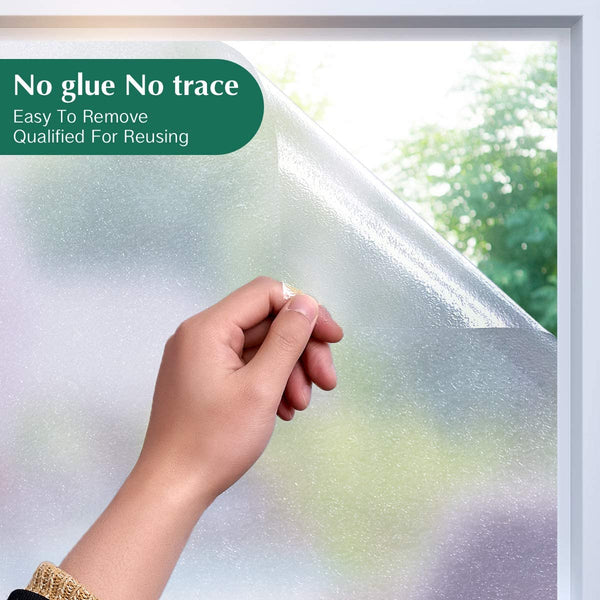 "Fleck Big Grain Texture 3D Window Film 17.7"" x 78.7"""