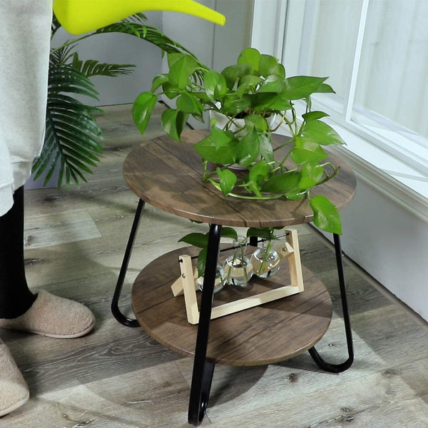 KONYA INDUSTRIAL ACCENT TABLE UK