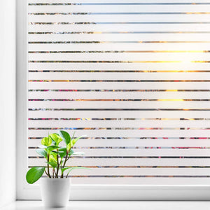 "Blinds Design Frosted Decorative Privacy Window Film 17,7"" x 78,7"""