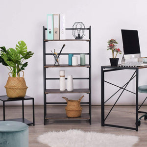 BACKER INDUSTRIAL FOLDING BOOKSHELF