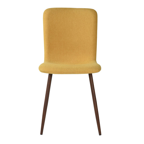 SCARGILL YELLOW DINING CHAIRS SET OF 4