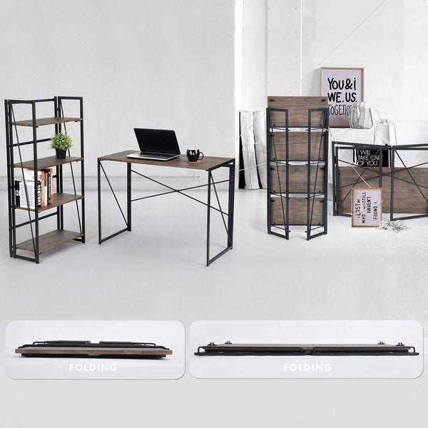 BACKER INDUSTRIAL FOLDING BOOKSHELF UK