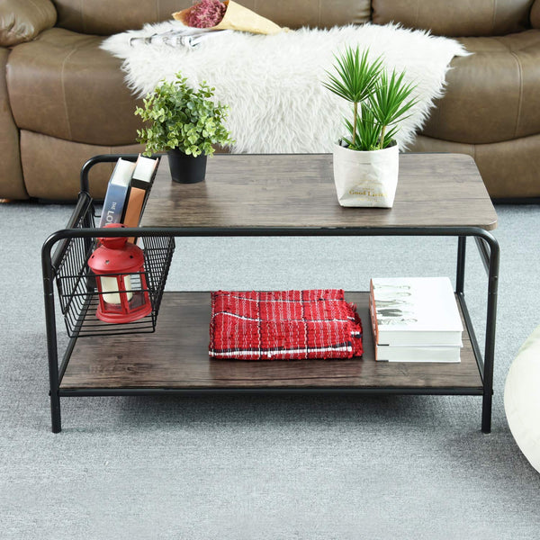NET RHODES INDUSTRIAL COFFEE TABLE