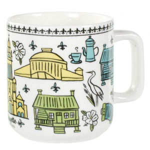 The Parish Line - Lafayette Coffee Mug
