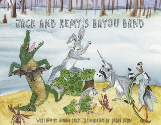 Books - Jack and Remy's Bayou Band