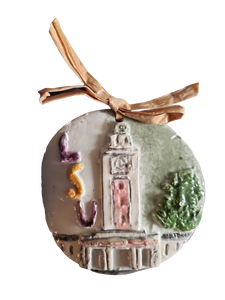 LSU Memorial Clock Tower Ornament