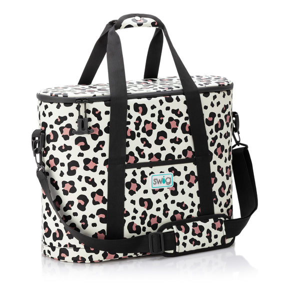 Swig Family Cooler Bag in Luxy Leopard