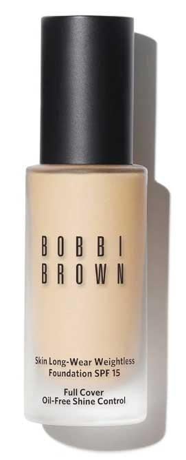 Bobbie Brown Skin Long Wear Weightless foundation für unreine fettige haut