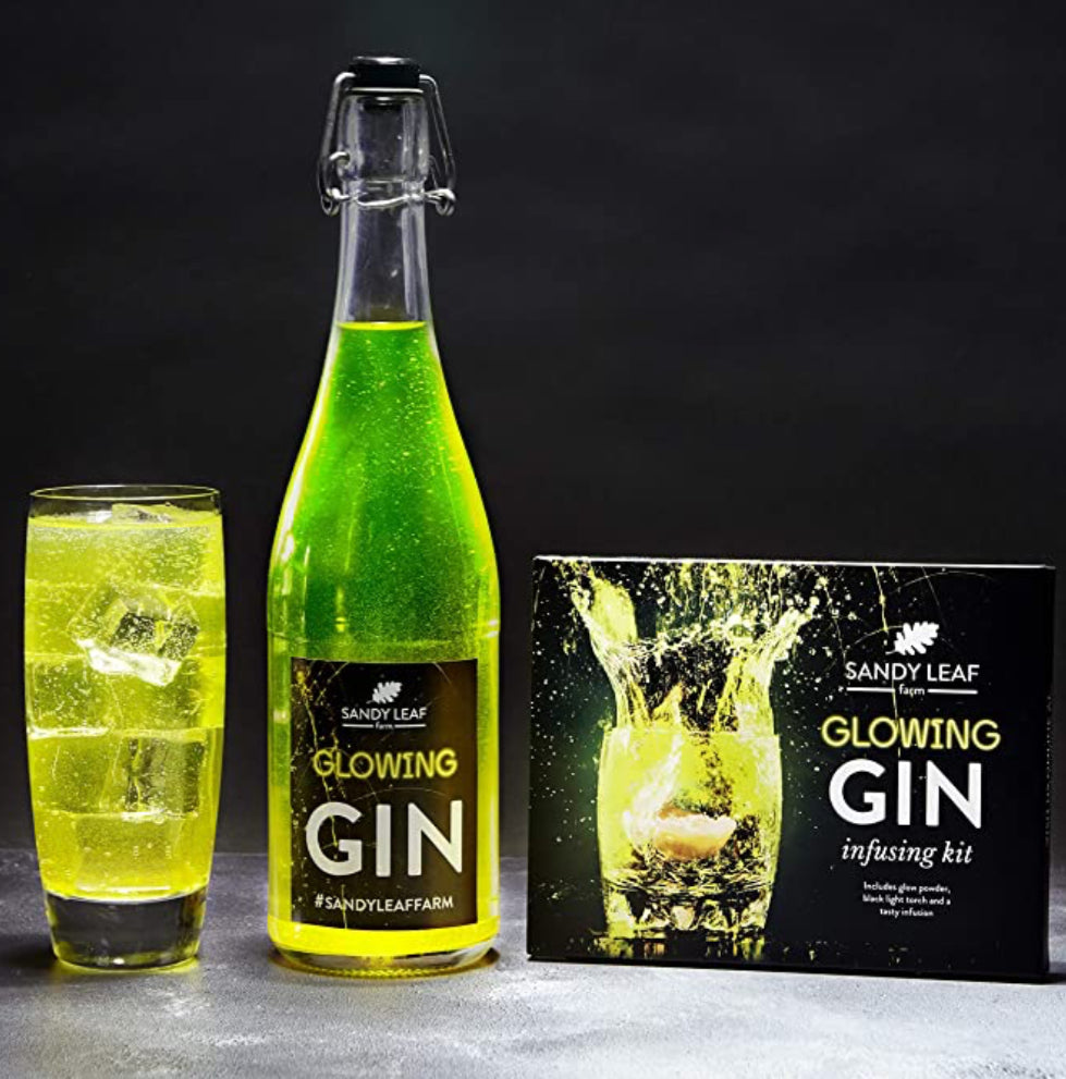 Make your own Glowing Gin
