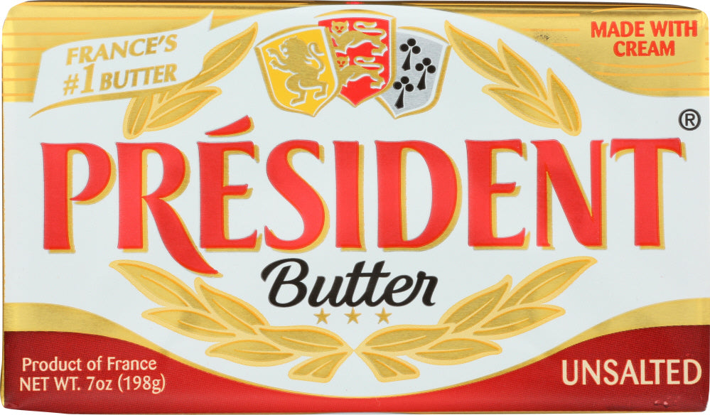 President: Unsalted Butter, 7 Oz