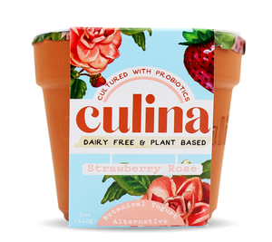 Culina: Strawberry Rose Yogurt, 5 Oz