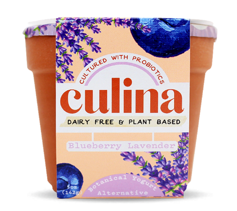 Culina: Blueberry Lavender Yogurt, 5 Oz