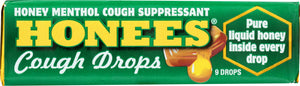 Ambrosoli: Honees Menthol Eucalyptus 9 Cough Drops, 1.63 Oz