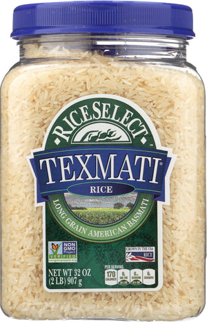Rice Select: Texmati Long Grain American Basmati White Rice, 32 Oz