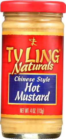Ty Ling: Naturals Chinese Style Hot Mustard, 4 Oz