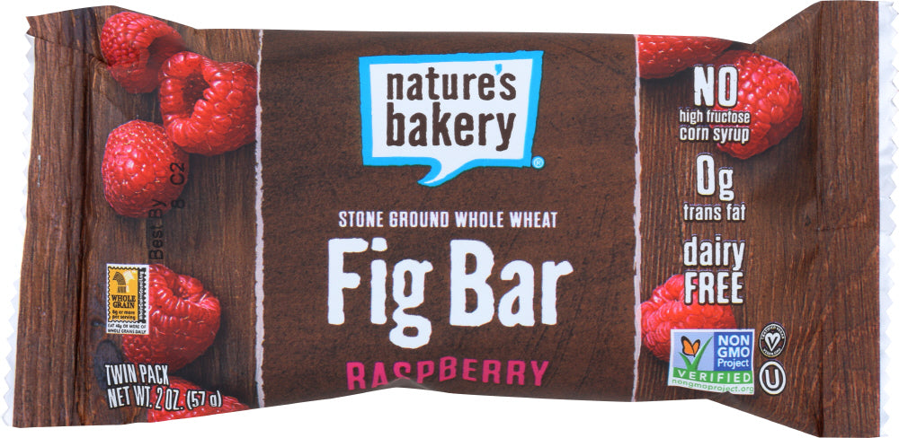 Nature's Bakery: Whole Wheat Fig Bar Raspberry, 2 Oz