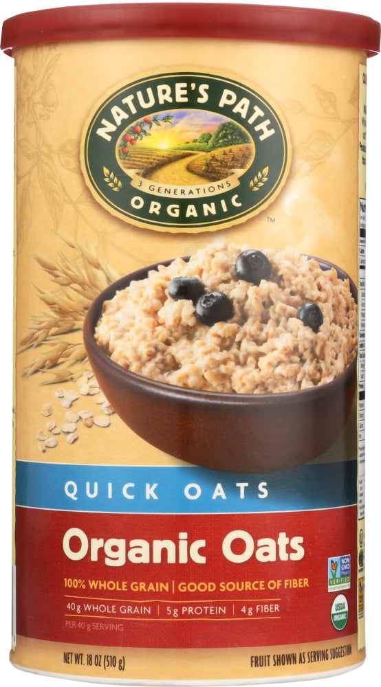 Country Choice: Organic Quick Oats, 18 Oz