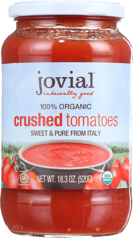 Jovial: Organic Crushed Tomatoes, 18.3 Oz