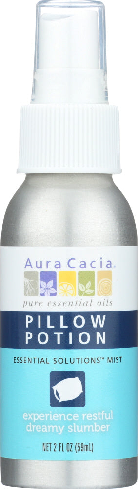Aura Cacia: Pillow Potion Essential Solutions Mist, 2 Oz