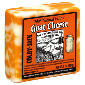 Natural Valley: Goat Cheese Colby-jack, 8 Oz