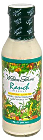 Walden Farms: Sugar Free Dressing Ranch, 12 Oz