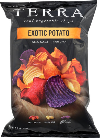 Terra Chips: Exotic Potato Chips Sea Salt, 5.5 Oz