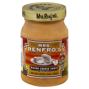 Mrs. Renfro's: Gourmet Nacho Cheese Sauce Medium, 16 Oz