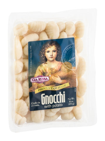 Gia Russa: Gnocchi With Potato, 16 Oz