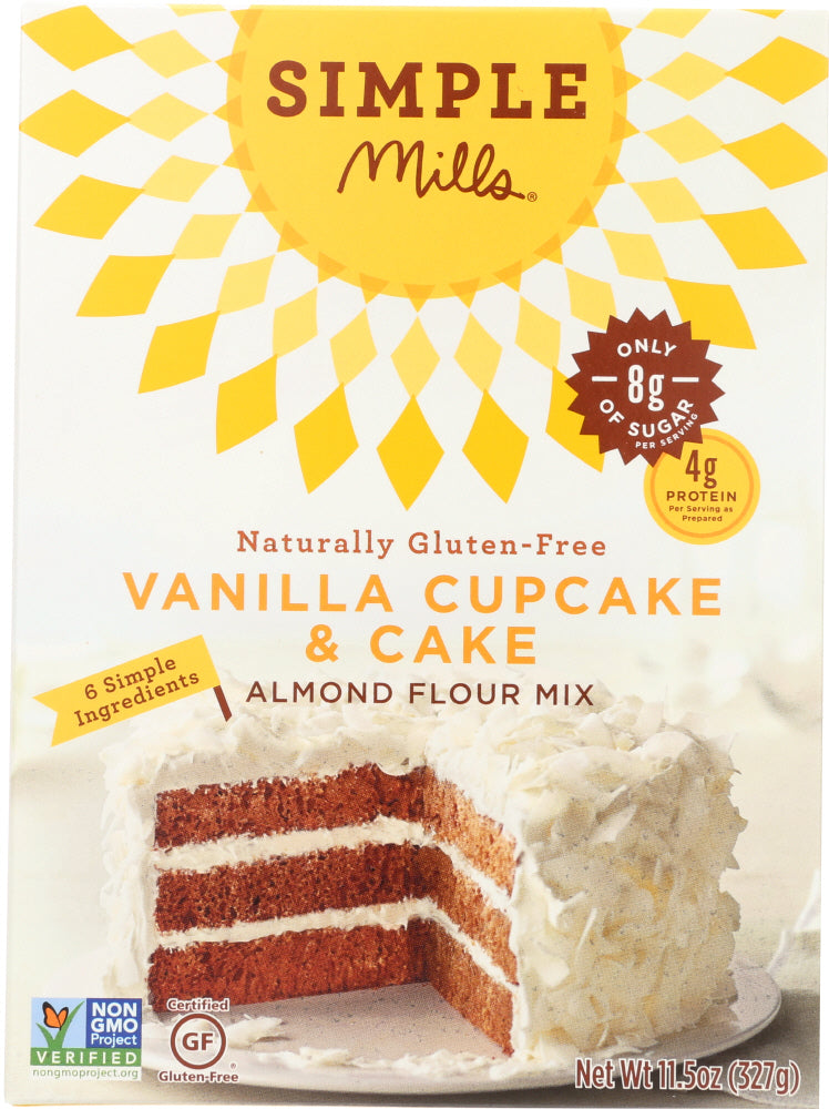 Simple Mills: Mix Cake Vanilla (11.540 Oz)