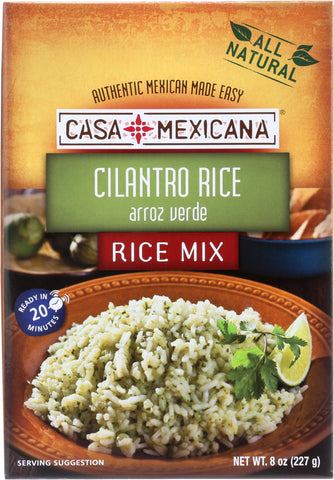 Casa Mexicana: Cilantro Rice, 8 Oz