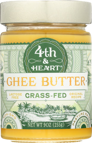 4th & Heart: Original Ghee, 9 Oz