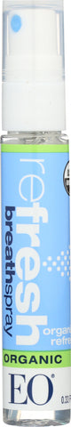 Eo Products: Organic Refresh Breath Spray, 0.33 Oz