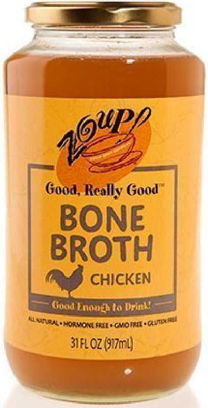 Zoup Good Really: Bone Broth Chicken, 31 Oz