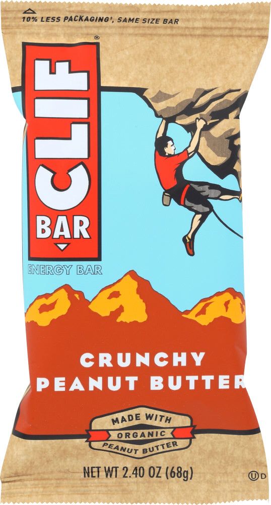 Clif Bar: Crunchy Peanut Butter Energy Bar, 2.4 Oz