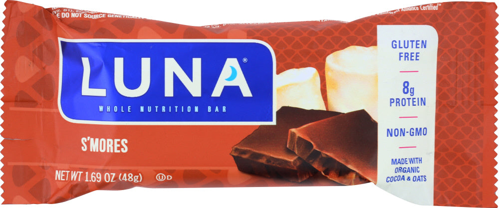 Luna: Women's Nutrition Bar S'mores, 1.7 Oz