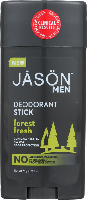 Jason: Deodorant Stick Forest Fresh, 2.5 Oz