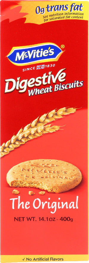 Mcvities: Digestives Wheat Biscuits The Original, 14.1 Oz