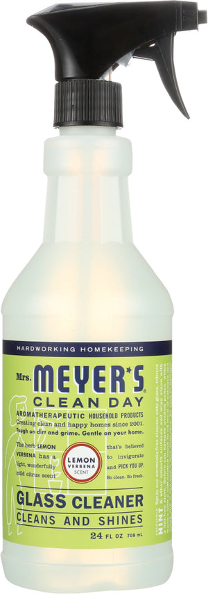 Mrs. Meyer's: Clean Day Glass Cleaner Spray Lemon Verbena Scent, 24 Oz