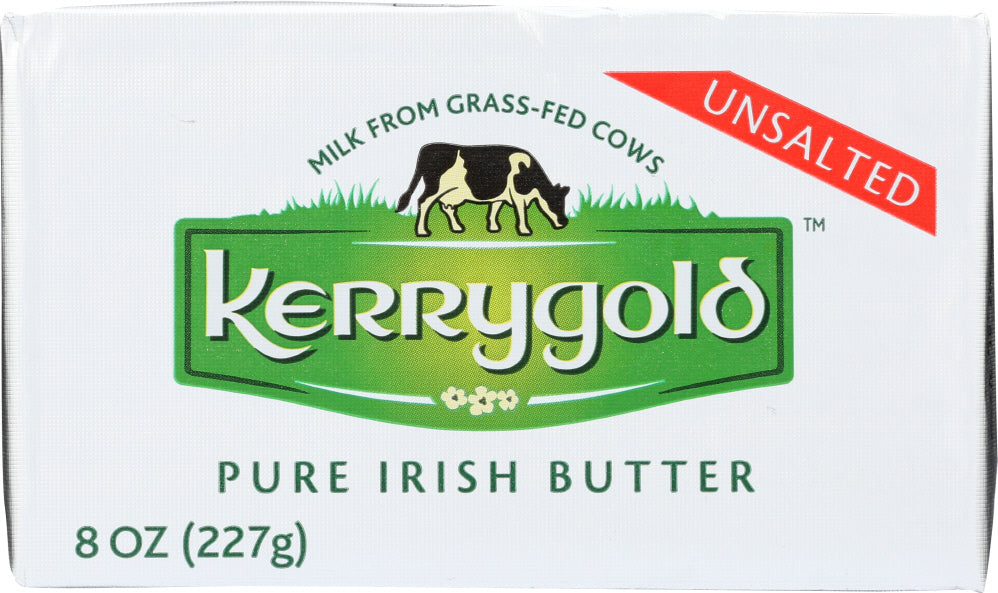 Kerrygold: Pure Irish Butter Unsalted, 8 Oz