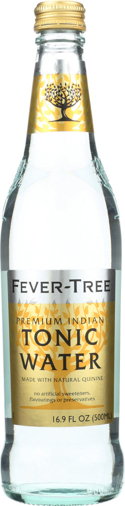 Fever-tree: Premium Indian Tonic Water, 16.9 Oz
