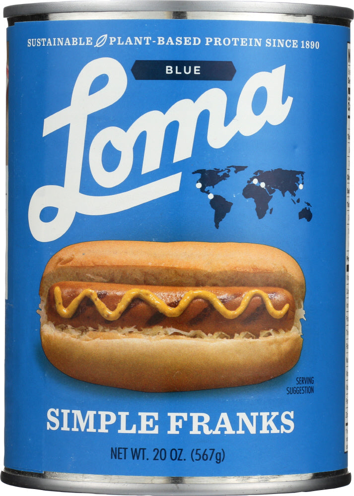 Loma Blue: Franks Simple, 20 Oz