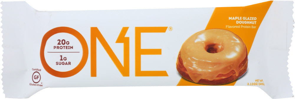 Oh Yeah: One Bar Maple Glazed Doughnut, 60 Gm