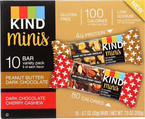 Kind: Peanut Butter Dark Chocolate Mini Bar, 1 Bx