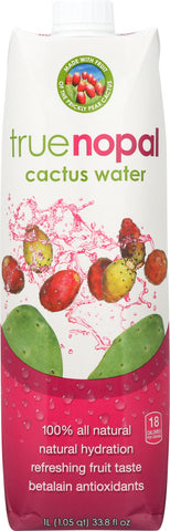 True Nopal: Cactus Water, 33.8 Oz