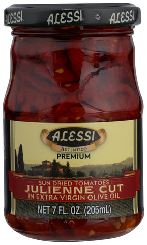 Alessi: Sun Dried Tomatoes Julienne Cut, 7 Oz