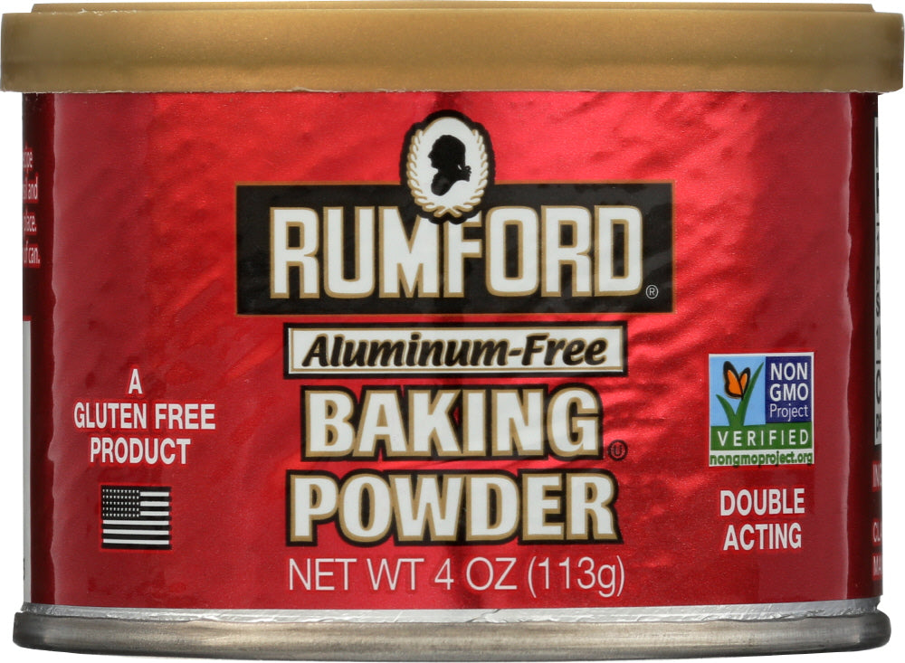Rumford: Baking Powder, 4 Oz