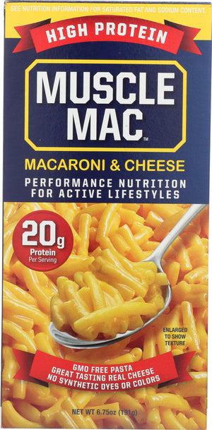 Muscle Mac: Macaroni And Cheese High Protein, 6.75 Oz