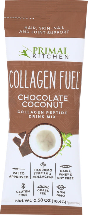 Primal Kitchen: Collagen Fuel Chocolate Packet, .58 Oz