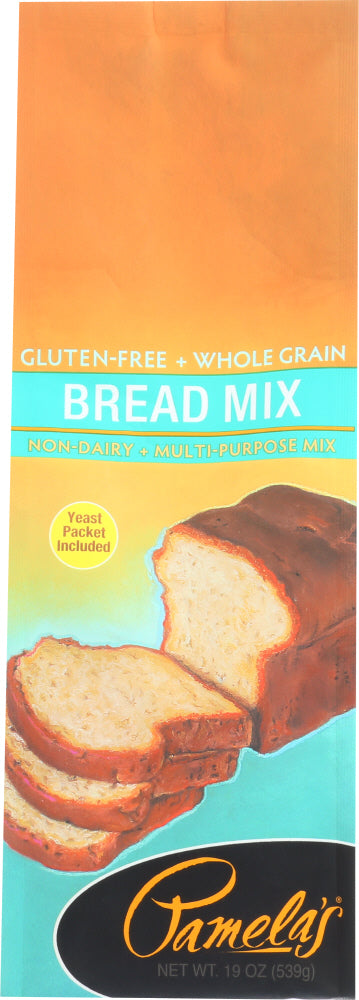 Pamelas: Gluten-free Bread Mix, 19 Oz