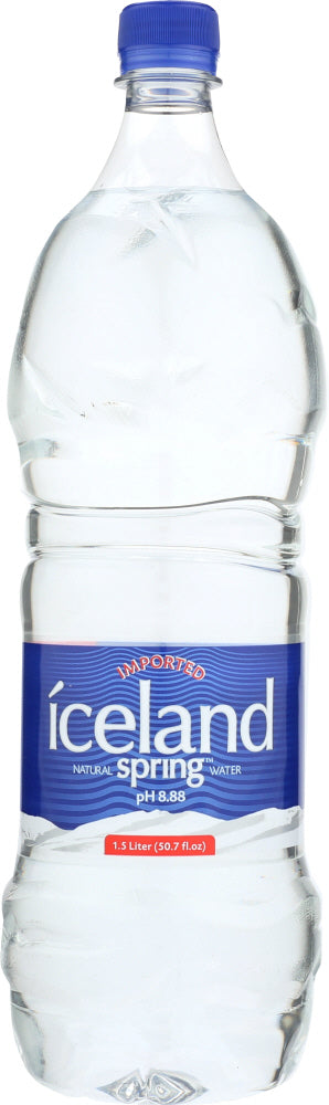 Iceland Spring: Natural Spring Water, 50.7 Oz